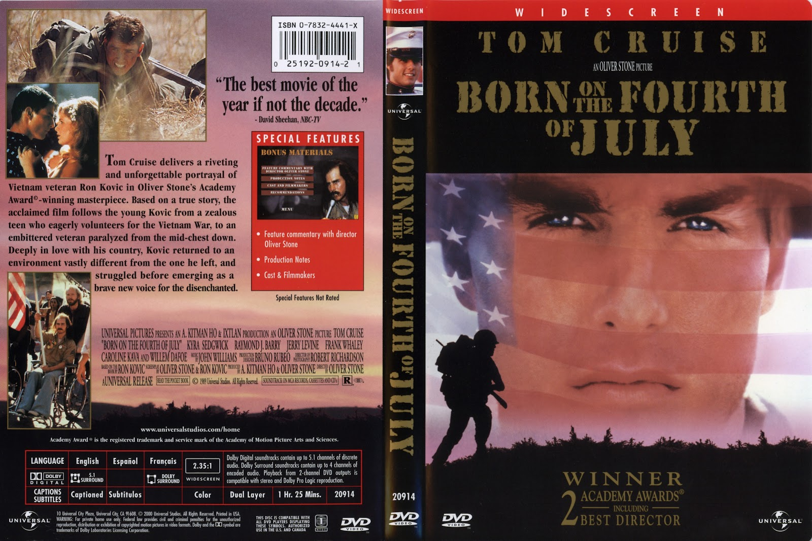 a review of the movie born on fourth of july Oliver stone's born on the fourth of july unfurls itself with an  the film could  almost be called platoon, part two it establishes the social.